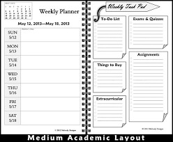 Best Academic Planner For College Students Daily Weekly Monthly Student Planner Pages By One Stop Students