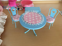 Barbie Esszimmer Möbel Vintage