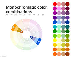 monochromatic-color-wheel -Hey There, Home