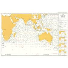 Admiralty Chart 5126 11 Routeing Indian Ocean November