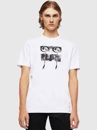 <b>Mens T</b>-<b>shirts</b>, <b>Tops</b> Diesel Black <b>Gold</b> | Diesel Online Store