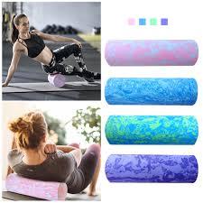 45/<b>60CM</b> Iridescent Cloud <b>Yoga</b> Foam Roller Pilates Block High ...