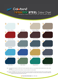 Steel Roof Color Chart Colour Steel Roofing Colour Chart Flat Roof Pictures