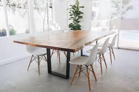Vivre à bord Table à manger Monkeypod Table Style scandinave | Etsy