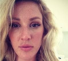 ellie goulding without makeup selfie