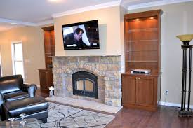 stone fireplace w built in bookshelves ak britton fireplace with built ins and windows fireplace with