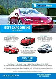 Car Advertisement Template Car Detailing Poster Advertisement
