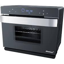 Lò hấp nướng đa năng Steba DG 30, lò nướng mini (đen / bạc)