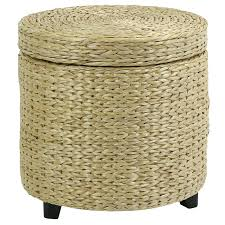 white wicker ottoman outdoor rattan cushion round ikea with storage from target faedaworks patio coffee table upholstered black and wooden rocking chair