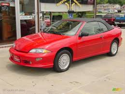1999 Bright Red Chevrolet Cavalier Z24 Convertible #12726992 ...