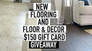 how to install wood flooring over tile floor decor giveaway