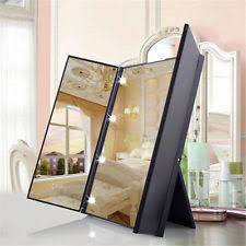 standing lighted mirror. best lighted makeup mirror with light vanity desktop standing led compact