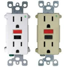replacing a gfci outlet instructions replacing a gfci outlet a replaced ground fault circuit interrupter outlet