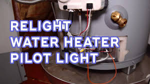 Can You Manually Light A Water Heater How To Relight Water Heater Pilot Light No Hot Water Quick Home Fix