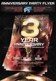 Top 10 Best Anniversary Psd Flyer Templates