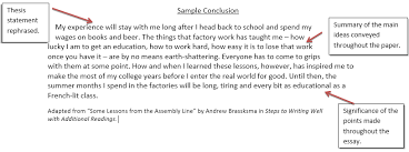 conclusion example for essays co conclusion example for essays