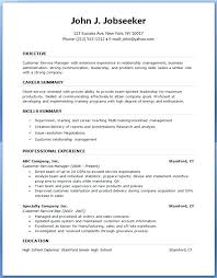 A Simple Resume Format Resume Formats Examples Professional Resume