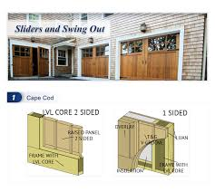 swing out garage doorsRanch House Doors  Carroll Garage Doors