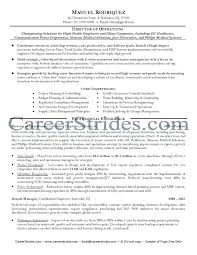 Director Of Operations Resume Sample Operations Coo Sample Resume ...