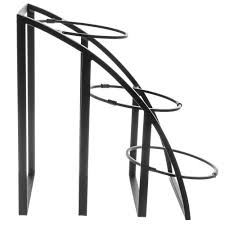 Large Bowl Display Stand CalMil Mission Style Collection 100Tier Black Metal Bowl Display 84