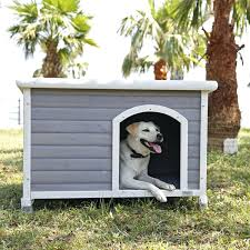 dog house outdoor winter heated wooden for malaysia