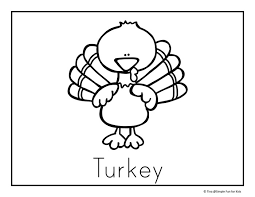 Small Picture Thanksgiving Coloring Pages Simple Fun for Kids