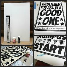 diy poster art super easy foam core board a buck engineer print from staples three bucks tape paint and mod podge on hand  on poster board wall art with diy poster art super easy foam core board a buck engineer print