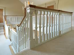image of wood stair spindles