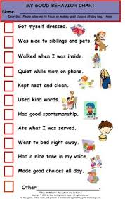 Positive Reinforcement Charts For Kids Behavior Charts Behavior Chart What A Great Way To Get