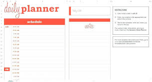 Printable Daily Planner Templates Free Template Lab Free Daily