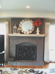 fireplace fresh spray paint for fireplace doors home design popular excellent to home interior fresh