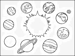 Free Solar System Coloring Pages At Getcoloringscom Free
