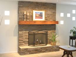 Fireplace Stones Decorative Strikingly Ideas 6 25 Fascinating Stacked Stone  Designs.