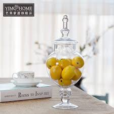 Large Decorative Glass Jars Amazing Large Glass Jars Pertaining To Bottle Candy With Lid 50