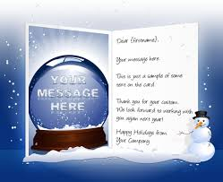 Business Christmas Card Template Christmas Ecards For Business Electronic Xmas Holiday Cards