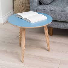 dark blue round table