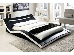 Zelina Black and White Finish Cal.King Platform Bed - Shop for ...