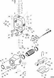 mercruiser race engine drive ssm six gimbal ring bell housing engine section