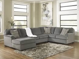 3 piece sectional sofa with chaise.  Piece Loric Smoke 3Piece Sectional Sofa WLeft Arm Facing Chaise To 3 Piece With Y