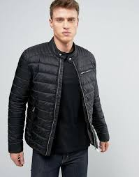 selected cheap leather jacket topman, Selected Homme Quilted ... & Selected Homme Quilted Jacket Black Men Jackets,selected luca chinos,SAVE  OFF Adamdwight.com