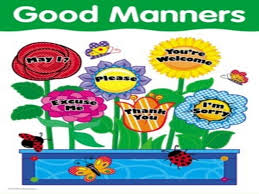 Good Manners Chart For Class 1 Good And Bad Manners