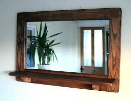 large rustic wall mirror large rustic wall mirror wall mirrors ergonomic reclaimed wood framed wall mirror