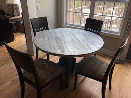 Vintage Tin Top Kitchen Table