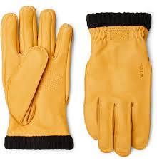 hestraprimaloft fleece lined full grain leather gloves