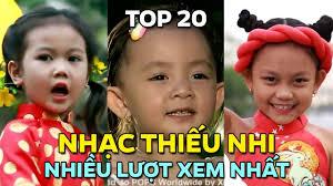 Top 20 Nhạc Thiếu Nhi Việt Nhiều Lượt Xem Nhất (12/2017)