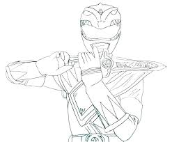 Coloring Pages Mighty Power Rangers Jungle Fury Colouring Coloring