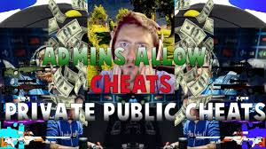 admins allow cheats greenscreen unboxing and public private