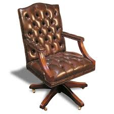gainsborough chair item 9911 antique leather office chair