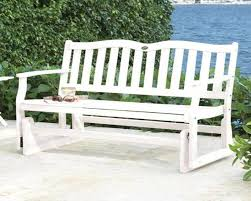 famous white outdoor bench ideas