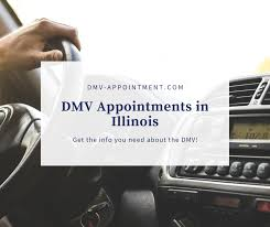 how to get an illinois dmv appointment